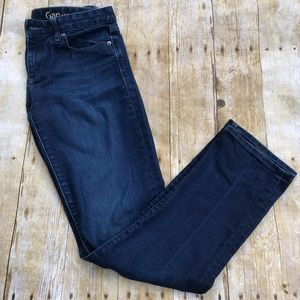 GAP Real Straight Dark Wash Jeans
